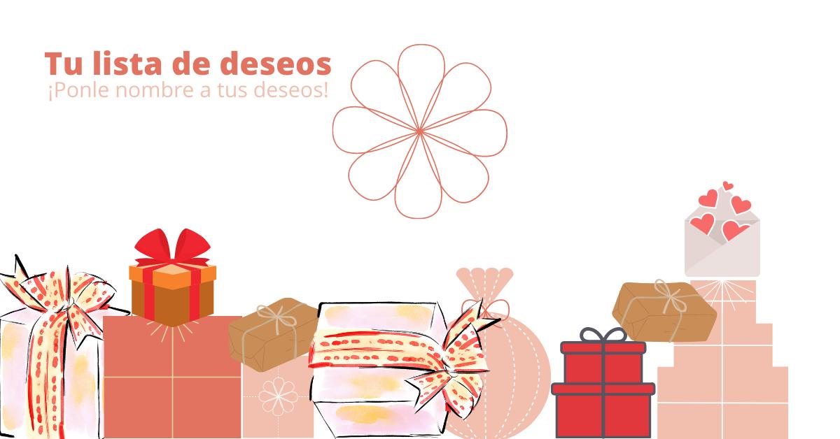 Lista de los deseos de L'Amia Natura con regalos