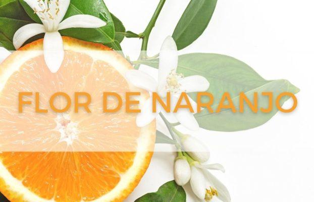El agua aromática de la flor de naranjo